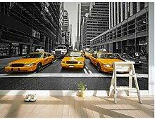 3D-Fototapete New York Yellow Cabin Wandbild