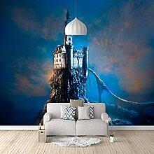 3D Fototapete Schloss Vlies Wandtapete Moderne