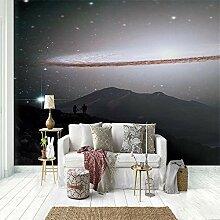 3d Fototapete Sternenhimmel-Galaxienpaar