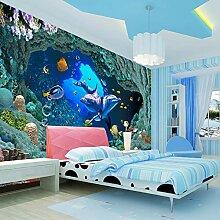 3D Fototapete Unterwasserwelt Wandmalerei Tapeten