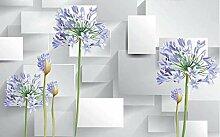 3D Fototapete Violett 280 x 200 cm Tapete 3D