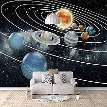 3d Fototapete Vlies Sternenplanet Wohnzimmer