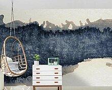 3D Fototapete Wandbild Abstrakte Tintenlandschaft