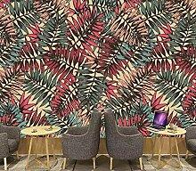 3D Fototapete Wandbild Abstraktes Tropisches