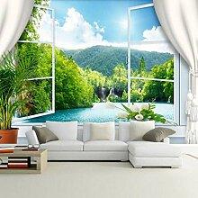 3D Fototapete Wandbild Aussichtsplattform Moderne
