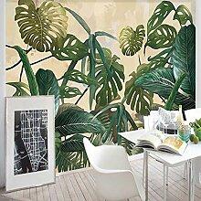 3D Fototapete Wandbild Blätter Moderne Wanddeko