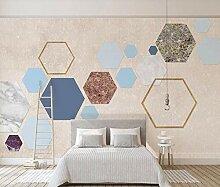 3D Fototapete Wandbild Geometrischer Quadratischer