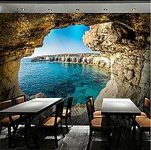 3D Fototapete Wandbild Loch Moderne Wanddeko Vlies