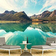 3D Fototapete Wandbild Meerwasser Moderne Wanddeko