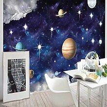 3D Fototapete Wandbild Planet Moderne Wanddeko
