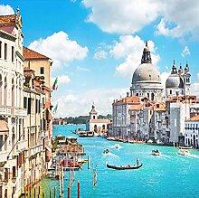 3D Fototapete Wandbild Venedig Wasserstadt Moderne