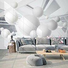 3D Fototapete Wandbild Volumenkörpergeometrie