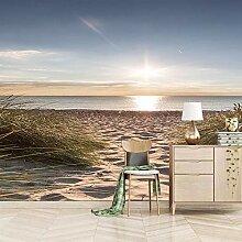 3D Fototapete Wandbild Wandbilder Meer - Strand