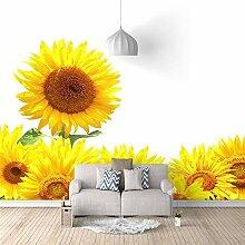 3D Fototapete Wandbild Wandbilder Sonnenblume
