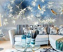 3D Fototapete Wandbilder Bambusblattvogel Vlies