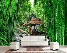 3D Fototapete Wandbilder Bambuswald Vlies Tapete