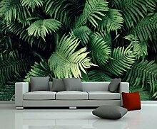 3D Fototapete Wandbilder Blatt Pflanze Vlies