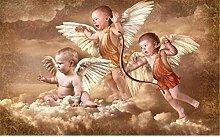 3D Fototapete Wandbilder Engel Vlies Tapete