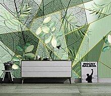 3D Fototapete Wandbilder Grüne Blätter Vlies