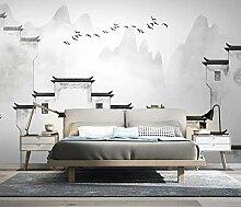 3D Fototapete Wandbilder Häuser Vlies Tapete