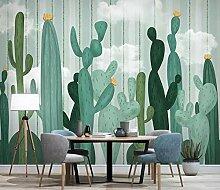 3D Fototapete Wandbilder Kaktus Vlies Tapete