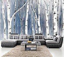 3D Fototapete Wandbilder Wald Vlies Tapete Moderne
