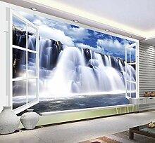 3D Fototapete Wandbilder Wasserfall Vlies Tapete