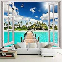 3D Fototapete Wandmalerei Wohnzimmer Kreative 3D