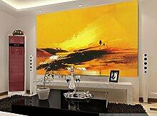 3D Gelbe Farbe 438 Tapeten Drucken Abziehbild Deko