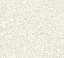 3D Geprägte Tapete 1005 H x 70 cm B Farbe: Weiß