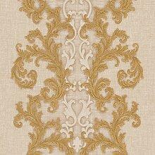 3D Geprägte Tapete Baroque & Roll 1005 cm H x 70
