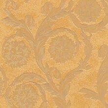 3D Geprägte Tapete Creamy Barocco 1005 cm H x 70