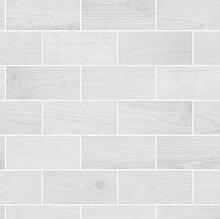 3D-geprägte Tapete Wooden Tile 10 m x 52 cm East
