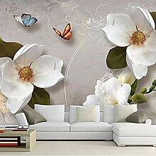 3D geprägte Vlies Tapete Schlafzimmer Wohnzimmer