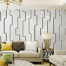 3D gestreifte Tapete für Wände moderne Rolle