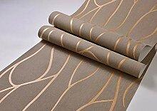 3D Gestreifte Tapete Für Wandwohnzimmer