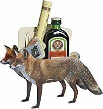 3D Glückwunsch Verpackung Fuchs - Tolle Geschenkidee für Jäger - Geschenkartikel - Glückwunsch - Geburtstag - Überraschung - außergewöhnliche Geschenke - Gruppengeschenk - Geschenk