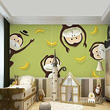 3D große Wand Zimmer Hintergrund Wand Junge
