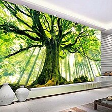 3D Grün Gig Baum Natur Landschaft Fototapete Für