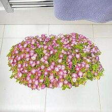 3D Grün Rasen Blume Boden Aufkleber Wohnkultur
