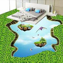 3D grüne leere Insel Boden benutzerdefinierte