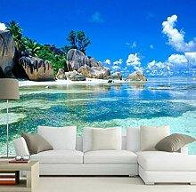 3D Hintergrund Fototapete 3D Ozean Meer Strand