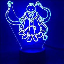 3D Illusion Lamp Nachtlicht LED Assassination