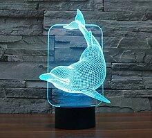 3D Illusion Lampe Led Nachtlicht 3D Acryl