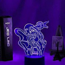 3D Illusion Lampe Led Nachtlicht Anime My Hero