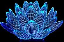 3D Illusion Lampe Led Nachtlicht Kamel 3D Licht