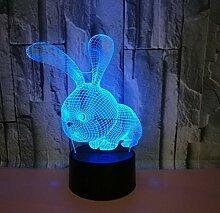 3D Illusion Lampe Led Nachtlicht Neue Abstrakte