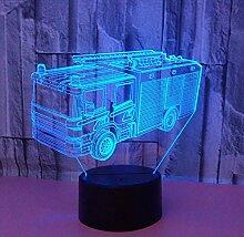 3D Illusion Lampe Led Nachtlicht Neue Hubschrauber