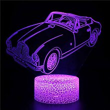 3D Illusion Lampe Led Nachtlicht Optical