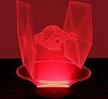 3D Illusion Lampe Nachtlicht optische Täuschung
